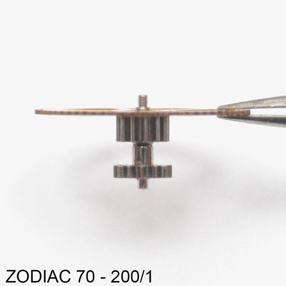 Zodiac 70-200/1, Intermediate wheel with friction