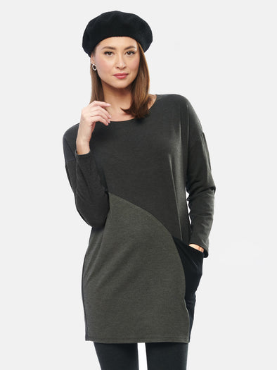 Mynx colour block tunic by Miik - shop.mybijouboutique.com