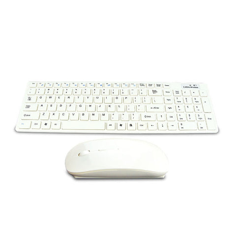 Wireless Keyboard and Optical Mouse