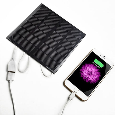 Solar USB Battery Charger for Mobile Phone