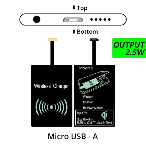 Universal Wireless Charging Charger Pad Module