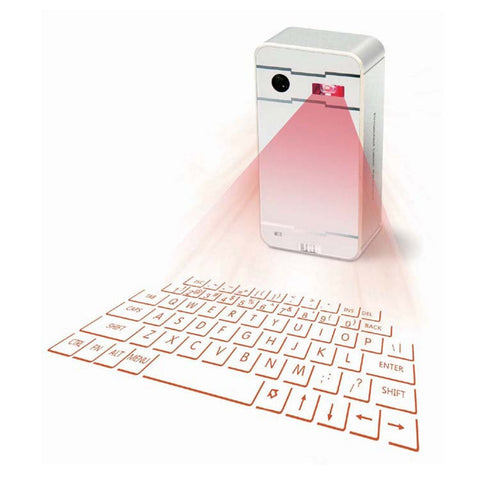 Laser Projection Keyboard for All Devices