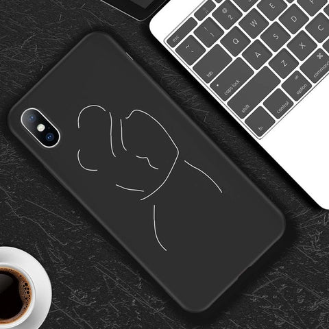Abstract Art Phone Case For iPhone