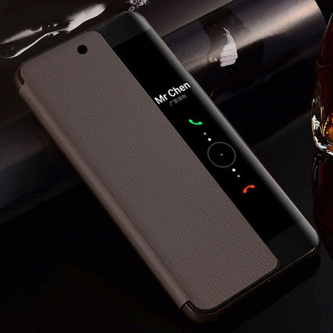 Flip Cover Leather Phone Case For Huawei