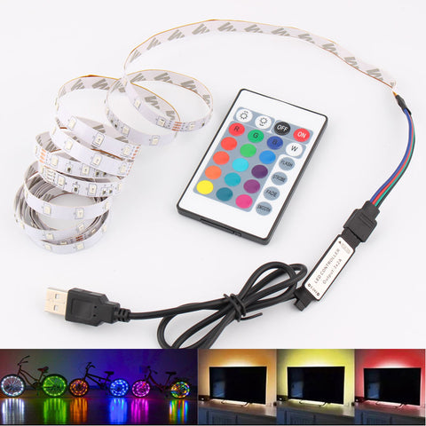 5V RGB LED Strip USB