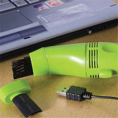 USB Vacuum Cleaner For Computer Keyboard - Free