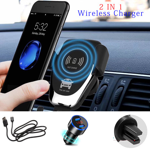 Car Wireless Charger And Holder