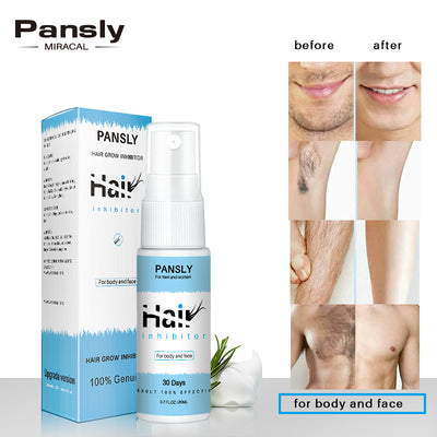 Permanent Hair Removal Inhibitor Spray