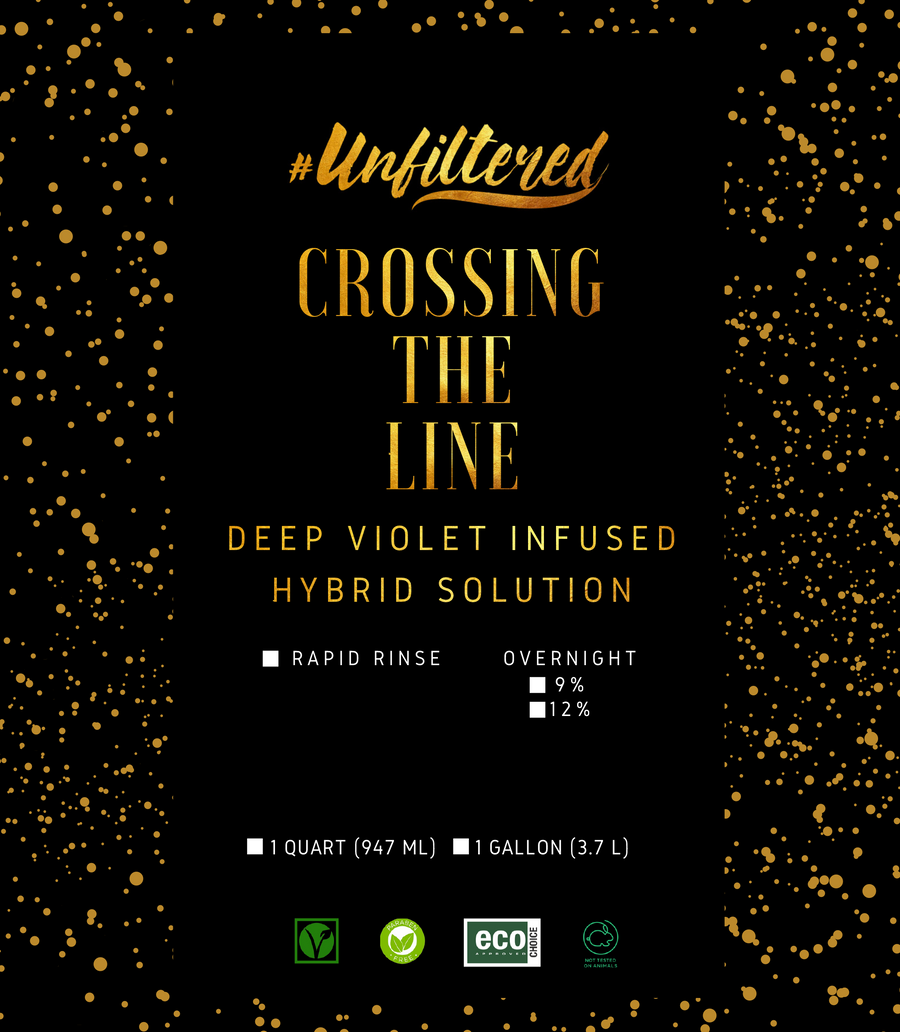 #Unfiltered Crossing the Line Dark - Wholesale