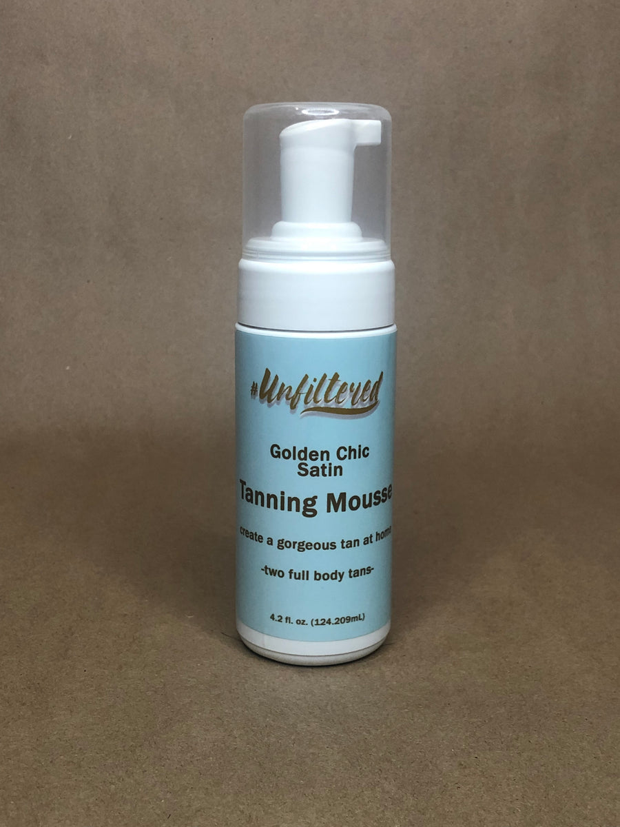 #Unfiltered Golden Chic Satin Tanning Mousse