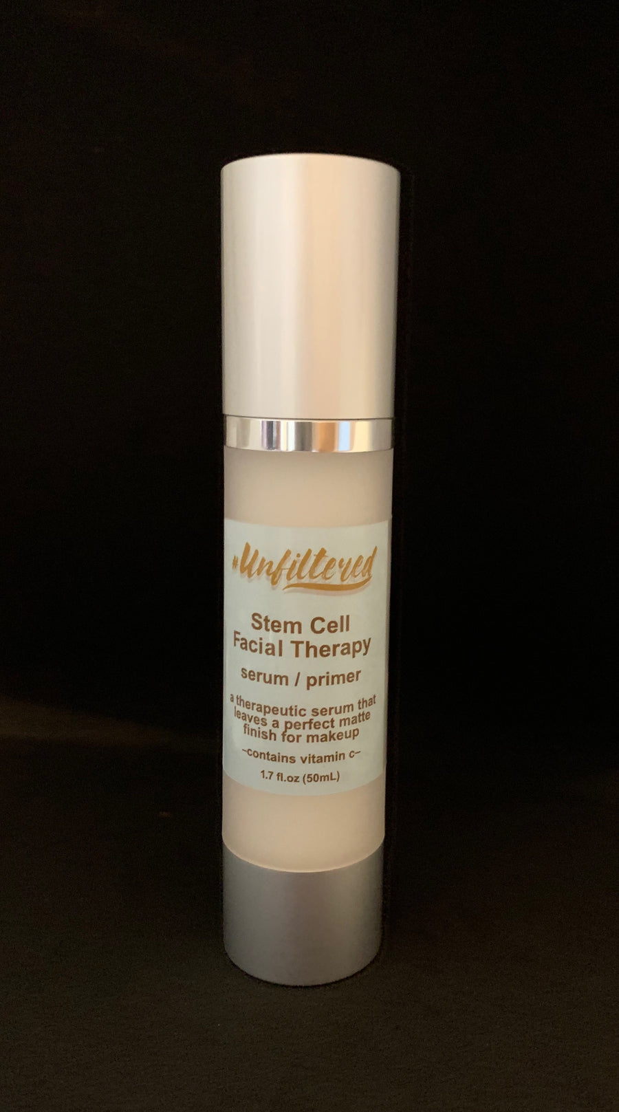 #Unfiltered Golden Chic Stem Cell Facial Therapy Serum/Primer