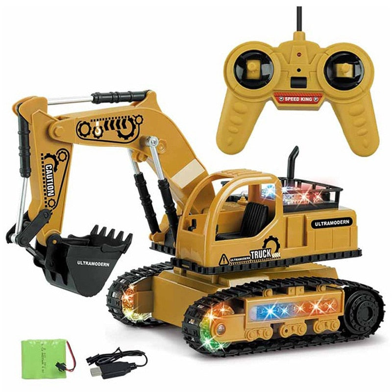 Simulation Rc Excavator Toys Shirlee Bee S Toys