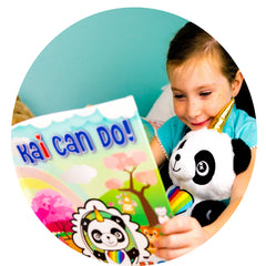 happy children reading kai panducorn unicorn
