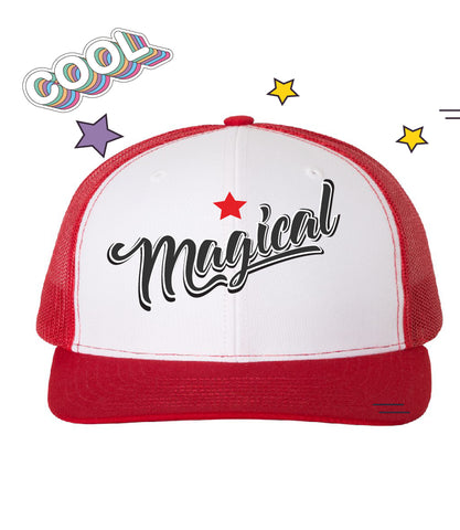 Magical DJ Kai Red Trucker Cap - Panducorn.com