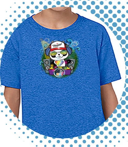 "Boys Youth Mid-Scoop Cotton ""DJ Kai"" T-shirt - Panducorn.com"