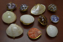 Load image into Gallery viewer, 11 Pcs Assort Seashell Storage Trinket Boxes