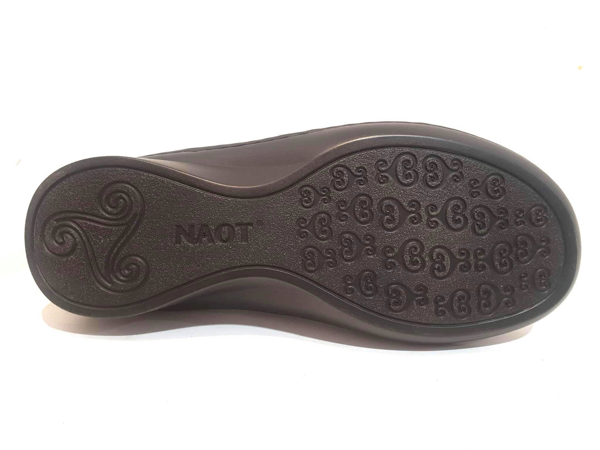 Naot Conga Black Combo Leather Velcro Mary Janes Ladies Shoes Made In Israel