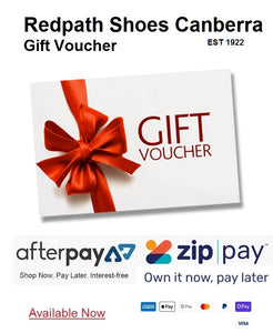 Redpath Shoes Canberra Gift Voucher Online and In-Store