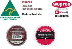 Shoe Care Products Waproo Oxblood Renovating Polish 45g Made In Australia