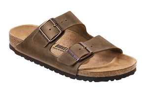 Birkenstock Arizona Tabacco Brown Oiled Leather Made In Germany