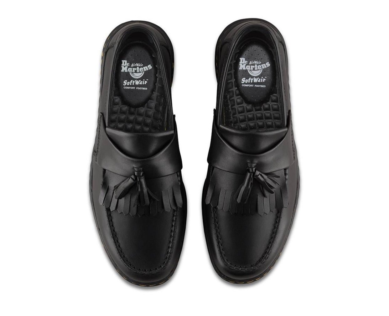 Dr. Martens Edison Black Temperley Leather Shoe