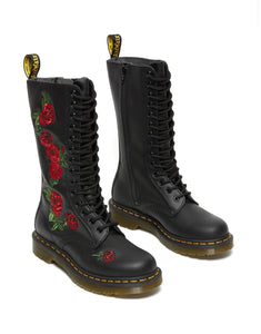 Dr. Martens Vonda Black Softy T 14 Eyelet Boot