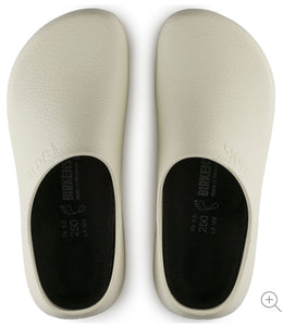 Birkenstock Super Birki White Clog Made In Germany