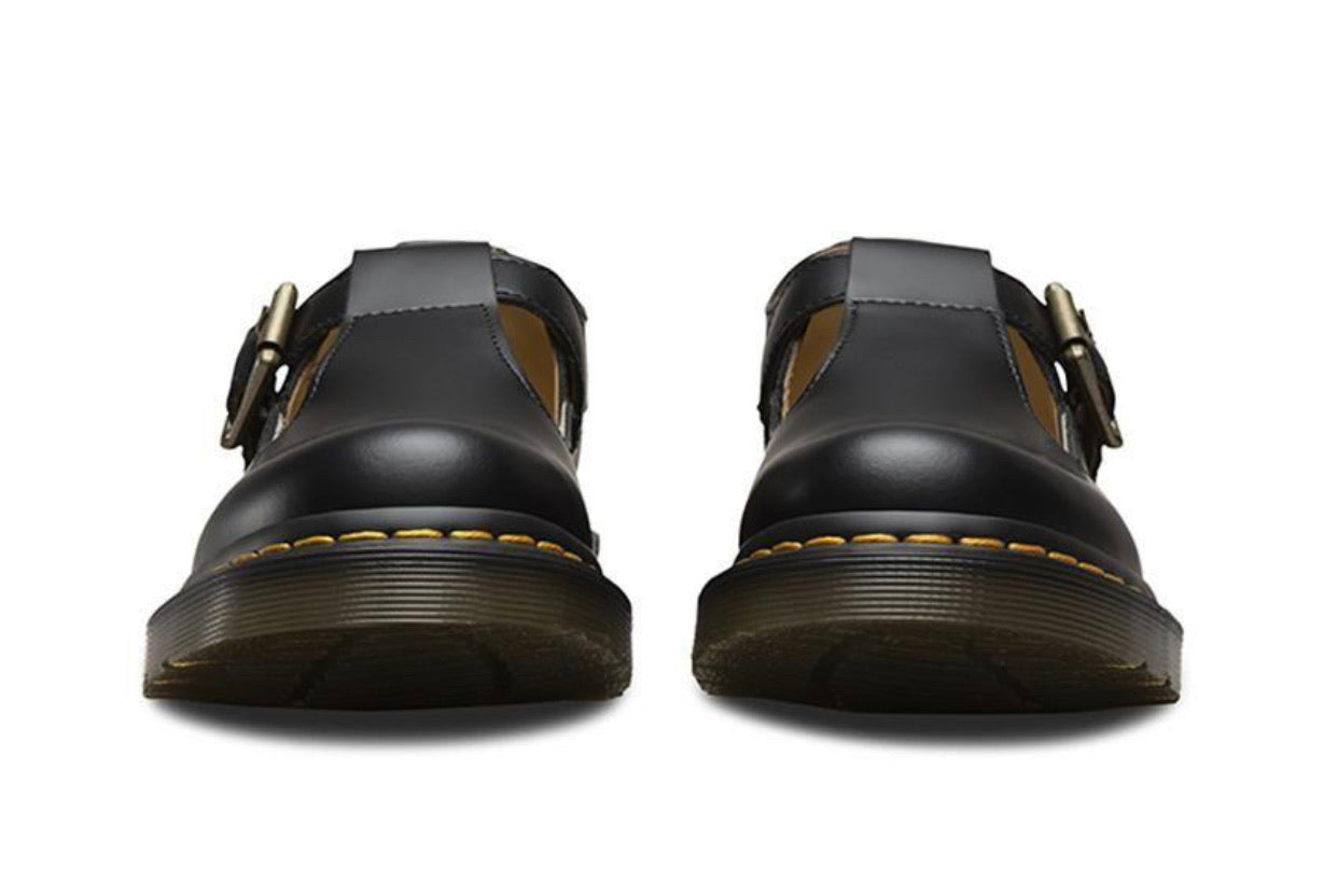 Dr. Martens Polley Black Smooth