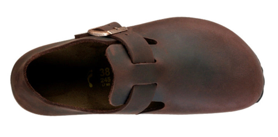 Birkenstock London Habana Oiled Leather Classic Footbed