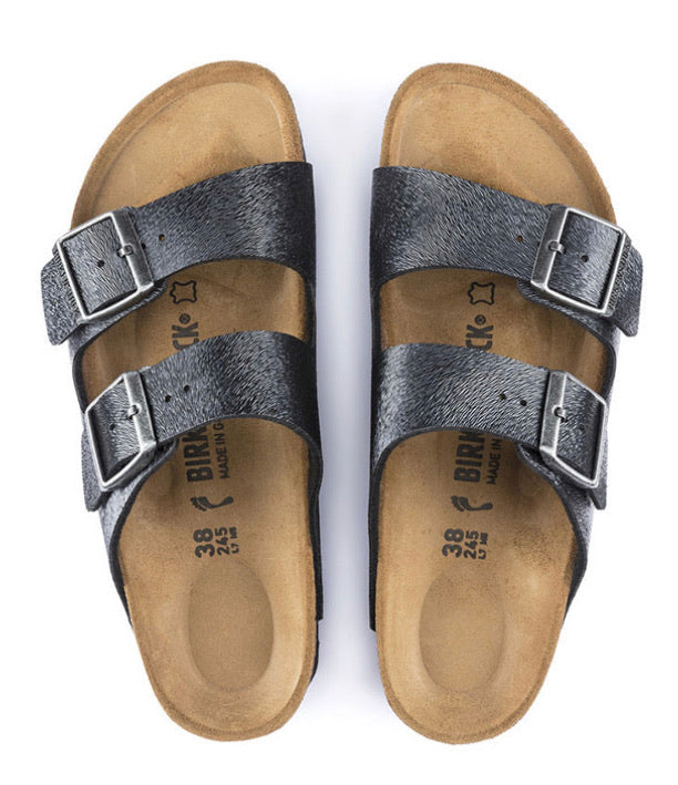 Birkenstock Arizona Animal Fascination Slate Birko Flor Made In Germany