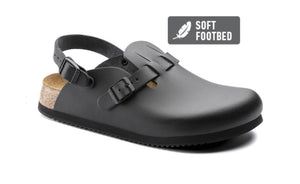 Birkenstock Kay Black Super Grip Soft Footbed Made In Germany