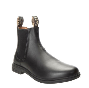 Rossi Boots 143 Barossa Black Soft Toe Leather Chelsea Dress Boot