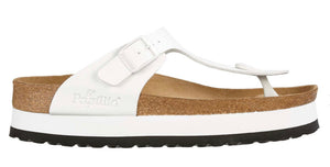 Papillio By Birkenstock Gizeh White Platform Made In Portugal