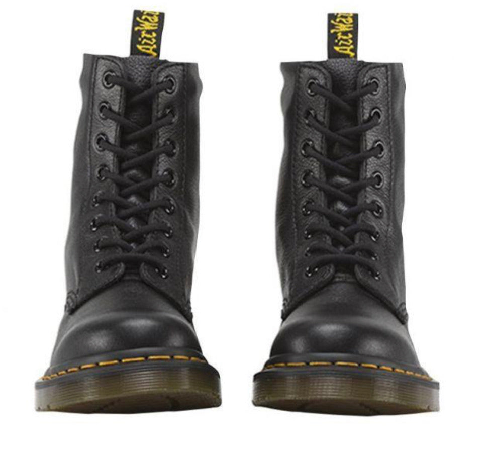 Dr. Martens 1460 Black Pascal Virginia 8 Eyelet Boot