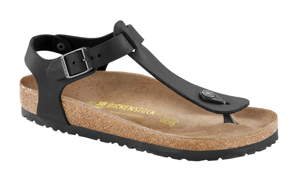 Birkenstock Kairo Black Oiled Leather Made In Germany