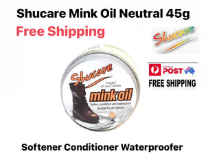 Shoe Care Products Shucare Mink Oil Neutral 45g