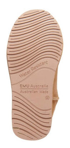 Emu Australia Ugg Boots Chestnut Platinum Stinger Hi Knee High Sheepskin Made In Australia