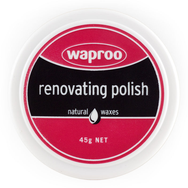 Shoe Care Products Waproo Forest Green Renovating Polish 45g Made In Australia