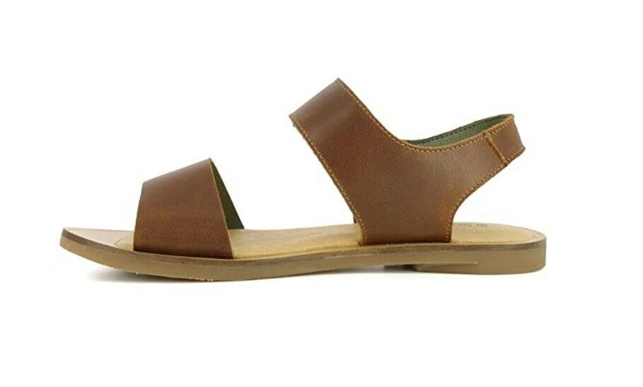 El Naturalista NF30 Wood Tulip Sandals Flats Made In Spain