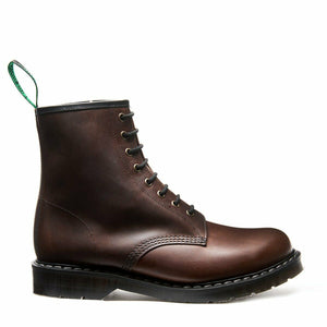 Solovair Crazyhorse Gaucho 8 Eyelet Boot Made In England