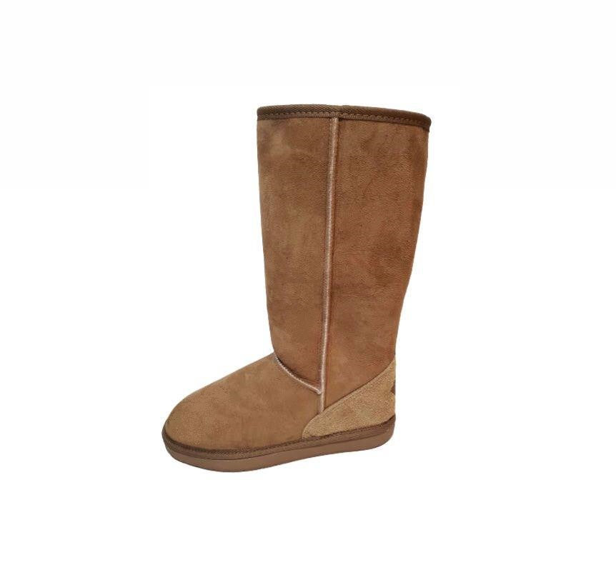 Ugg Australia Tidal Long Chestnut Knee High Sheepskin Boot Made In Australia