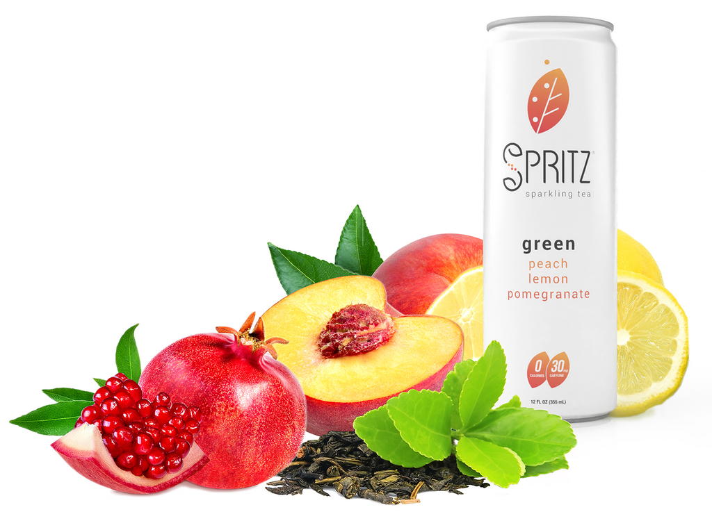 Sparkling Green Tea 12 pack