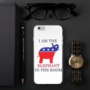 I am the Elephant in the Room iPhone Case