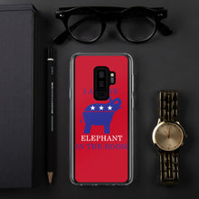 Load image into Gallery viewer, I am the Elephant in the Room Blue Samsung Case