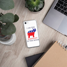 Load image into Gallery viewer, I am the Elephant in the Room iPhone Case