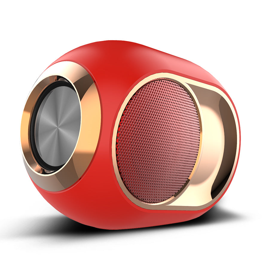 Gold-Plated Bluetooth Portable Speaker