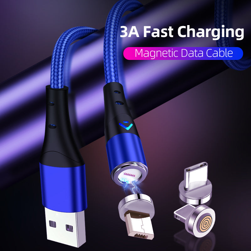 Magnetic Charging Cable 3-in-1