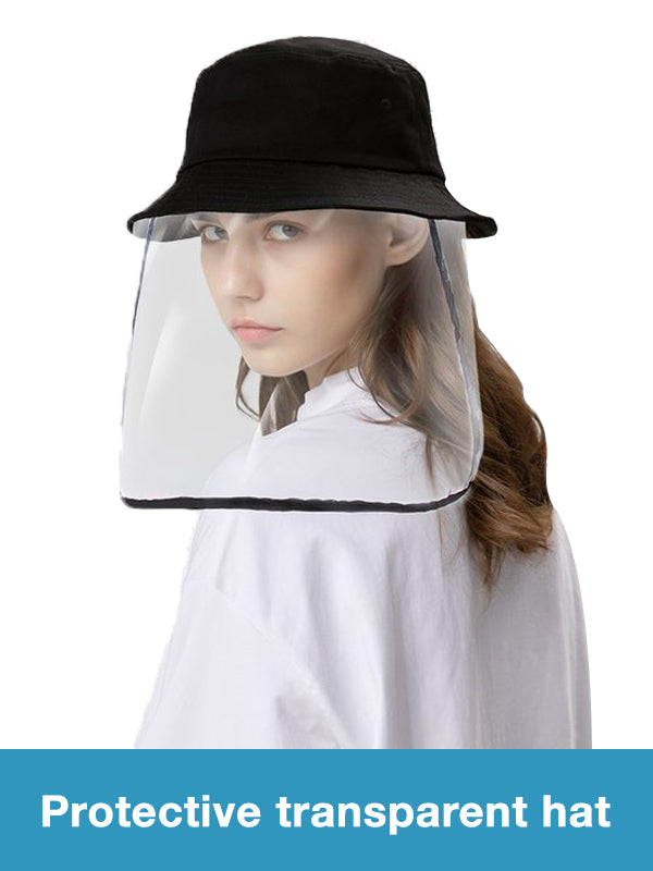 Protective transparent hat