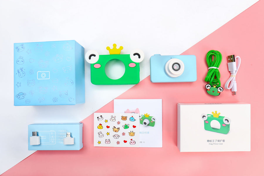 Kids Digital Camera(Birthday Toy Gifts for 4-13-Year-Old Children)