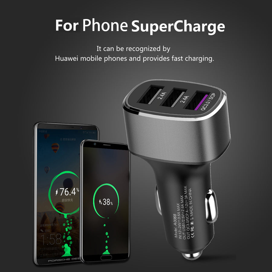 39W Car Quick Charger